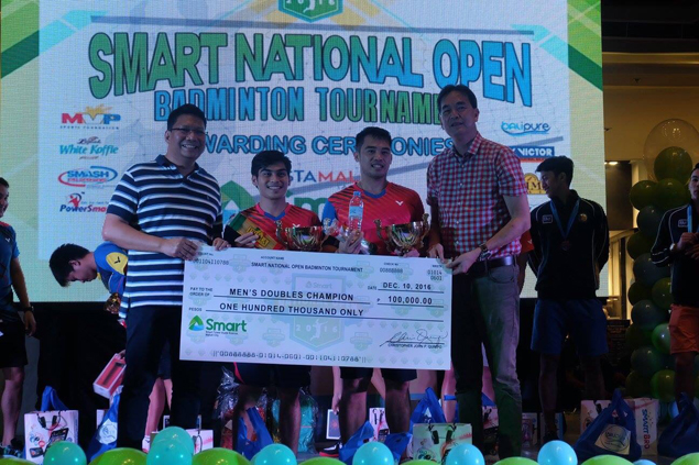 Cayanan, Escueta win doubles title as Malaysian tops singles in National Open Badminton