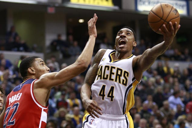 Pacers ride late surge to hold off Wizards and snap Washington's three-game win run