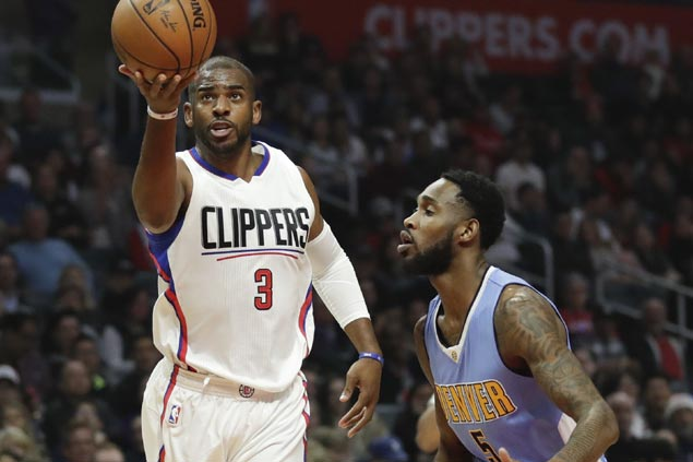 Hot-shooting Clippers crush Nuggets to snap Denver's three-game win streak