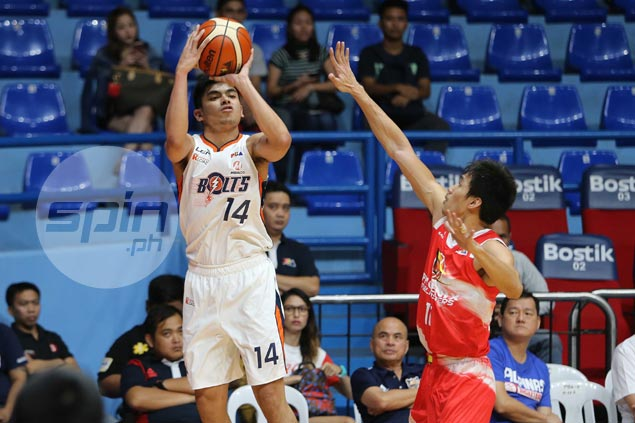 Meralco rookie Jonathan Grey not letting high from career game get to his head