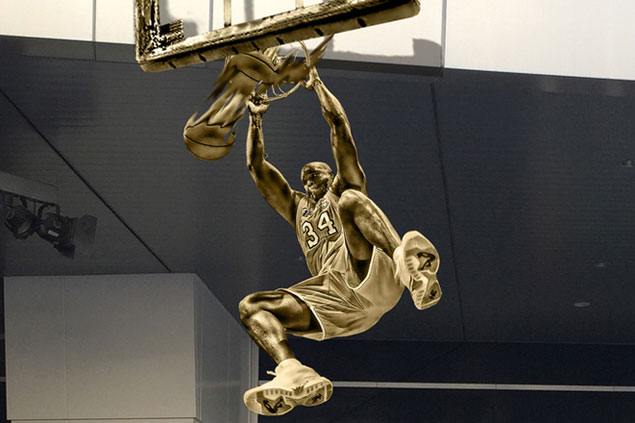 LA Lakers to honor Shaq with larger-than-life statue in front of Staples Center