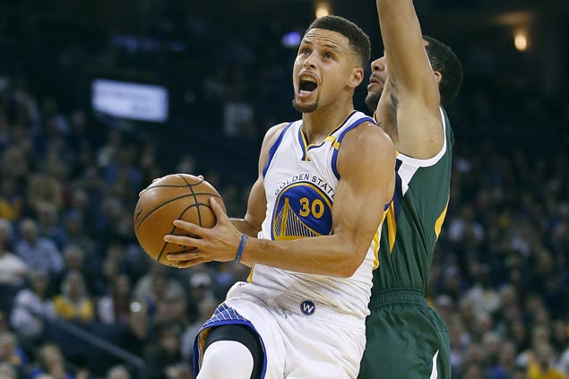 Warriors send surging Jazz crashing with 30-point rout to stretch win run to five