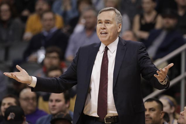 Mike D'Antoni glad to see players show heart as Rockets bounce back byagain relying on triples