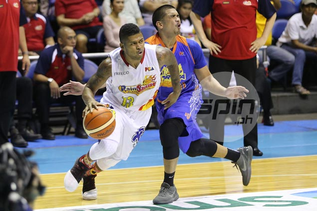 Maverick Ahanmisi a bit anxious ahead of first meeting with former coach Yeng Guiao