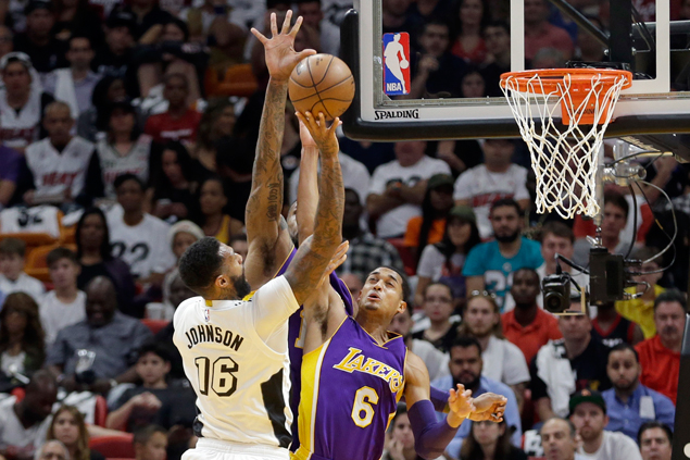 Heat shows grit in comeback win as Lakers blow 19-point lead for the second straight game