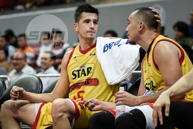 Marc Pingris expects Star fans to be outnumbered by Ginebra's, more so after James Yap exit