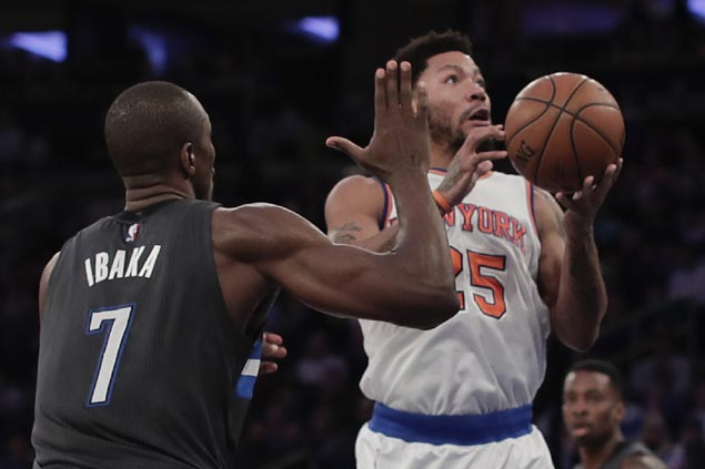 Derrick Rose leads Knicks balanced attack to coast to victory over Magic