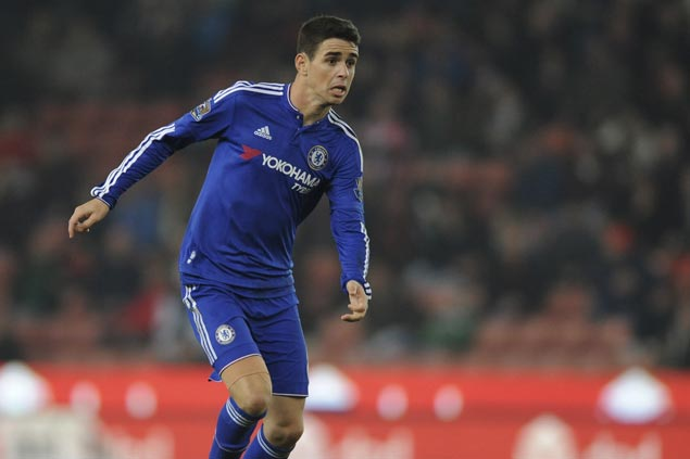 Another high-profile player goes to rich China league as Oscar moves from Chelsea to Shanghai