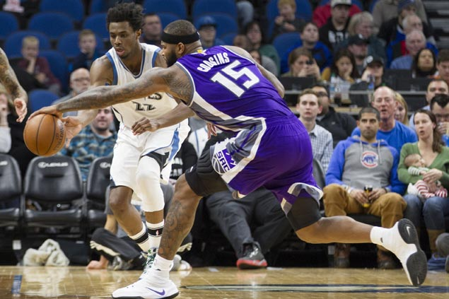 Cousins, Lawson lead Kings late to tame Timberwolves, spoil Zach Lavine's career-high 40