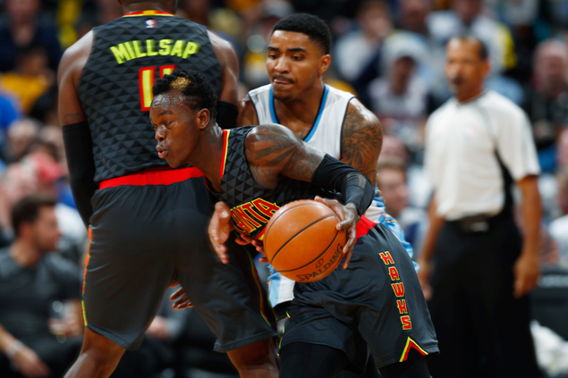 Hawks rally late to beat Nuggets and get back on winning track
