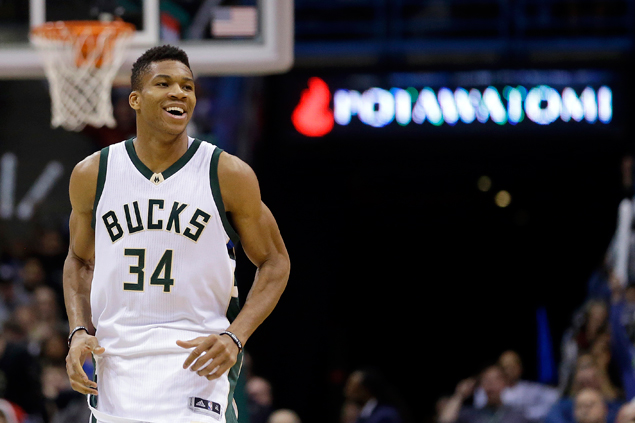 Giannis Antetokounmpo scores career-high 39 as Bucks rip Wizards