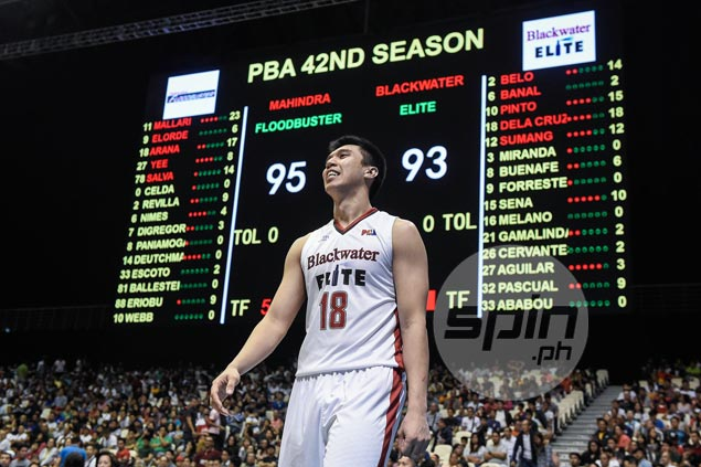 Art dela Cruz says young Blackwater needs to show more composure in endgame