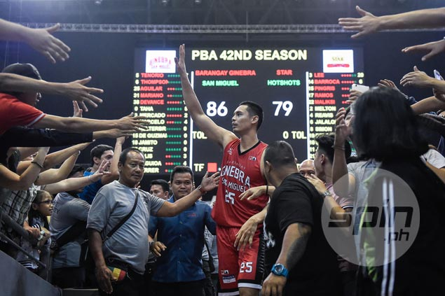 Ginebra hero Japeth Aguilar surprised to see offense flow while focused on defense