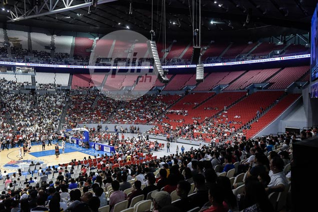 Ginebra-Star Christmas Day turnout falls short of duplicating PBA record at Philippine Arena