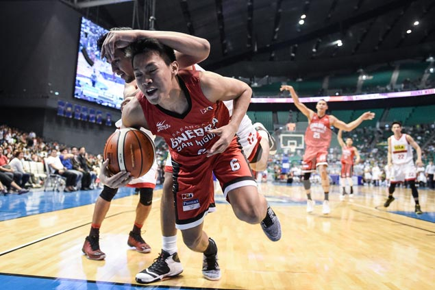 Guard Scottie Thompson on career-high 17 rebounds: 'Dinadaan ko lang sa sipag'