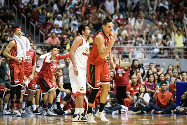 Cone not surprised by Japeth Aguilar's fiery shooting. He knew his dad, afterall