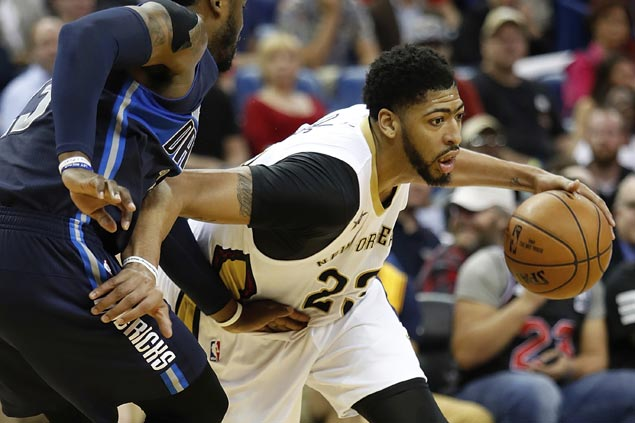 Anthony Davis comes up clutch to quash Dallas' late-game rally as Pelicans hold off Mavs