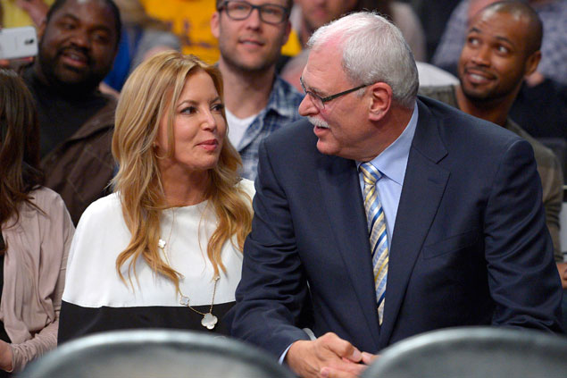 Knicks' Phil Jackson, Lakers' Jeannie Buss mutually end four-year long engagement