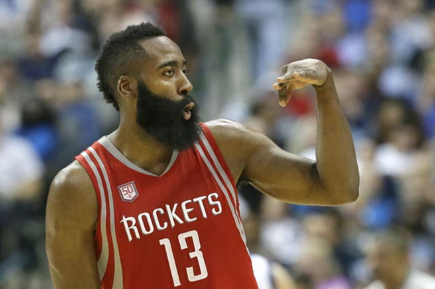 Rockets frustrate Mavs in testy romp for first season series sweep over Dallas since 1998