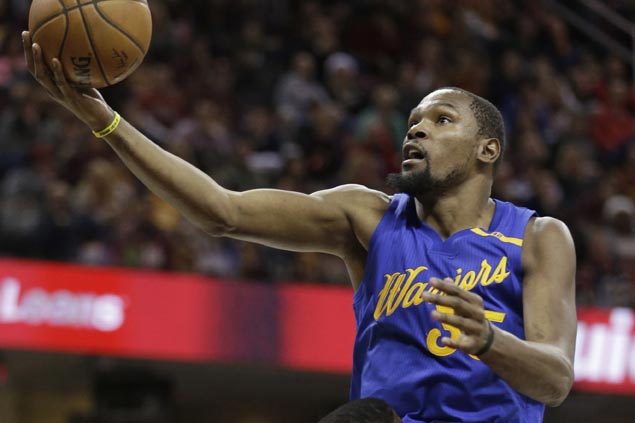 Kevin Durant moves on, defends refs from NBA's 'bull---t' 'Last Two Minute' reports