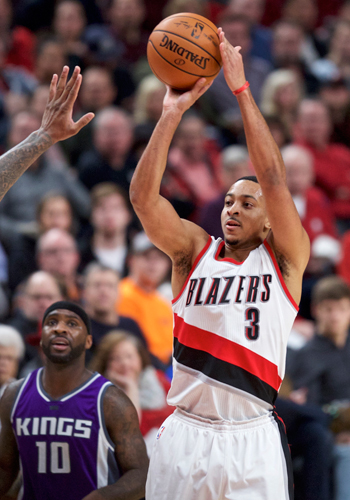 CJ McCollum takes charge as Blazers down Kings to arrest six-game slide