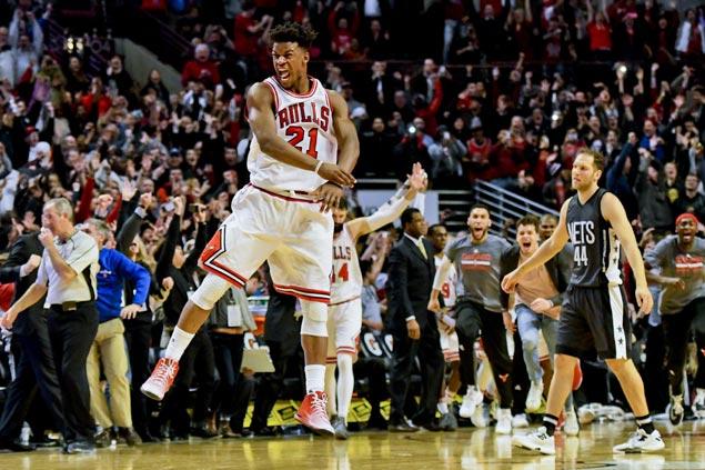 Bulls avoid upset ax vs Nets as Jimmy Butler serves game-winning buzzer-beater