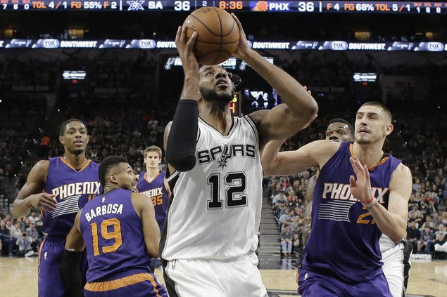 Spurs overcome slow start with scorching second half to sink lowly Suns, stretch win run to three