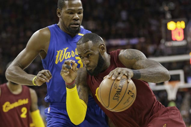 LeBron James plays down Cavs-Warriors rivalry: 'I don't think we have a rival in our game today'