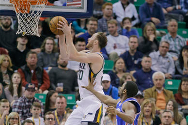 Jazz turns up the defense in the fourth to turn back Sixers in George Hill's return