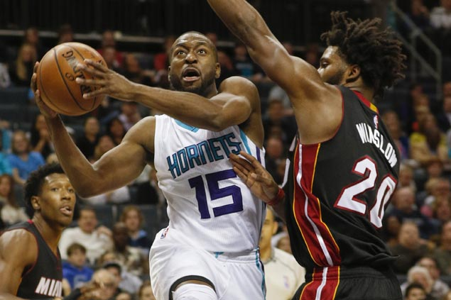 Hornets buck cold start, ride strong third quarter surge to pull away from slumping Heat