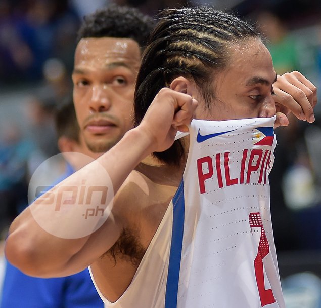 Heartbreak for Gilas Pilipinas guards Terrence Romeo and Jayson Castro.