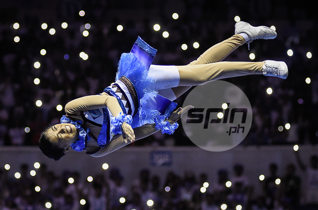 Performance level for Adamson in the UAAP Cheerdance Competition.