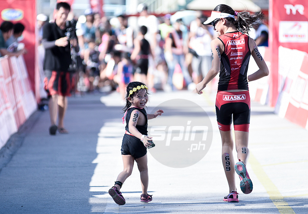 Heart over height for this young and charming triathlete.