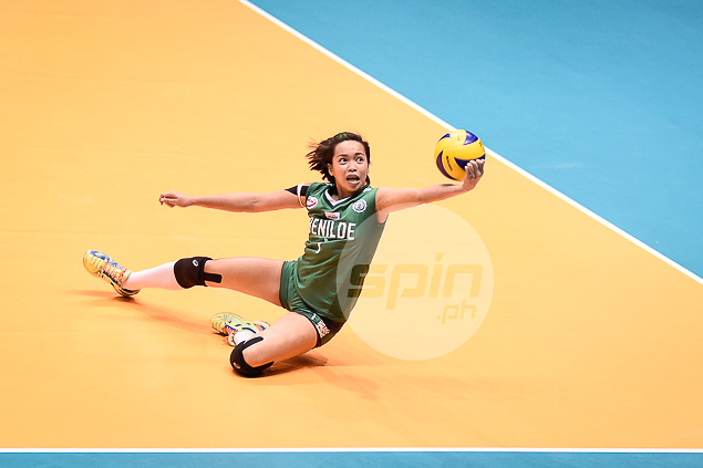 Jeanette Panaga goes all out.