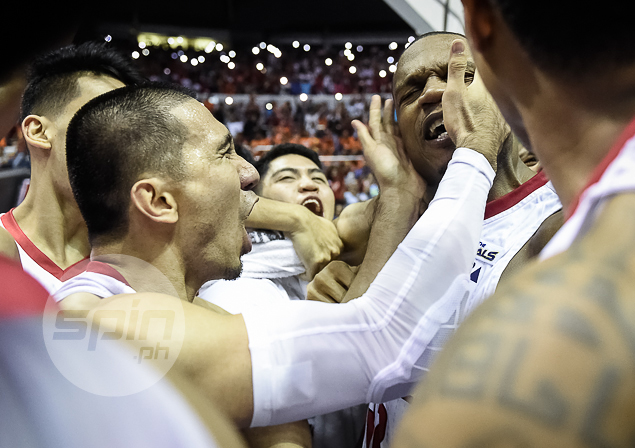 Euphoria for Ginebra after Justin Brownlee's buzzer-beater ends eight-year title drought for Gin Kings.