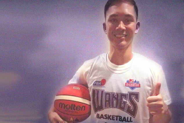 Earvin-Ace Lacsamana thankful to have a mentor in Allan Caidic as he pursues PBA dream