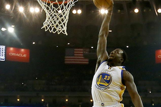 Draymond Green caps triple-double outing with clutch putback as Warriors hold off Nuggets