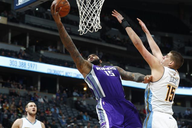 DeMarcus Cousins powers second quarter blitz as Kings deal Nuggets third straight loss