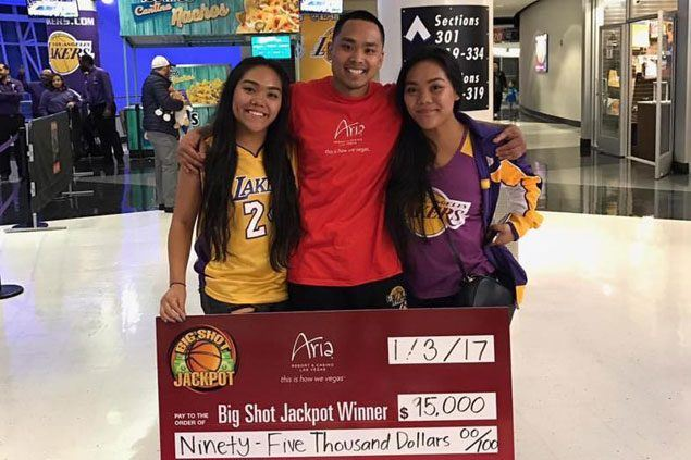 Pinoy Laker fan channels D'Angelo Russell after sinking halfcourt shot, offers $95K prize to mom