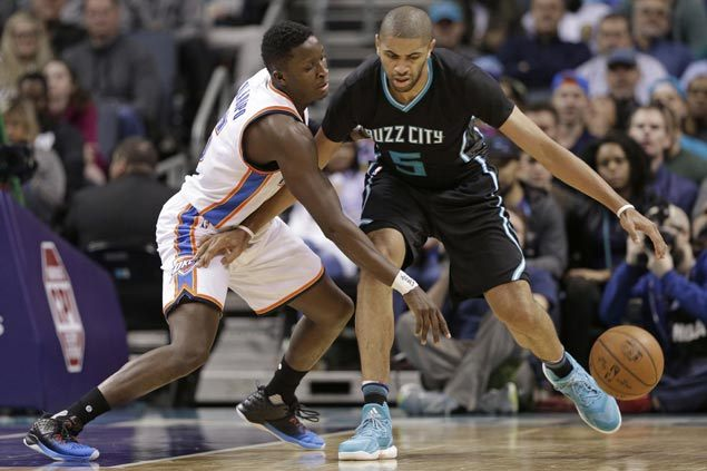 Hornets rally late to end two-game slide and deal Thunder second consecutive loss