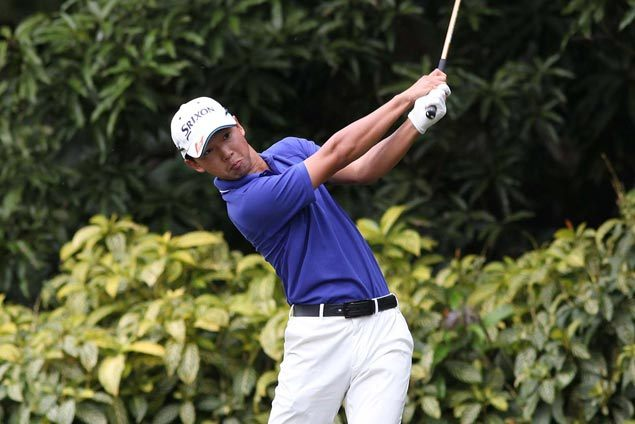 Yuto Katsuragawa leads Paolo Wong by two strokes in Philippine Amateur Golf Championship