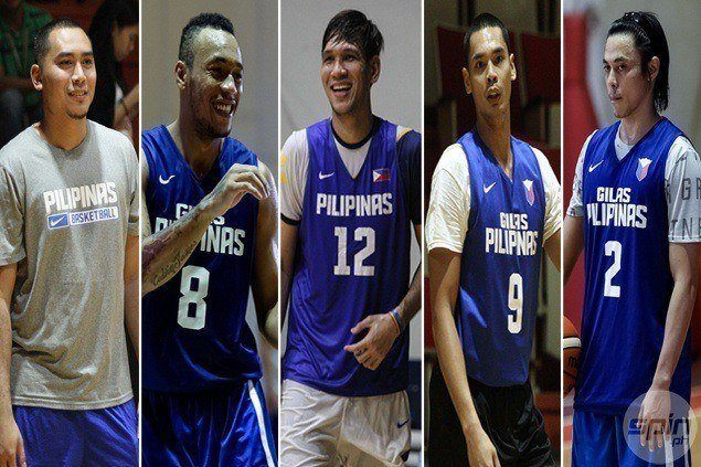 Gilas Pilipinas 5.0 assembles for first time in three-day, out-of-town training camp next week