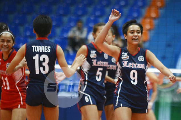 Letran nabs first win at expense of winless Mapua in NCAA volleyball