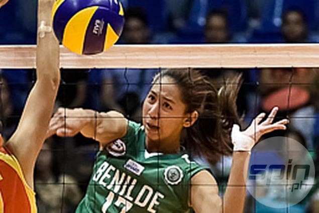 CSB fights back from a set down to defeat San Beda, gain solo second in NCAA volleyball