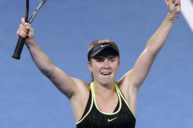 Elina Svitolina continues giant-slaying ways, ousts top-ranked Angelique Kerber in Brisbane
