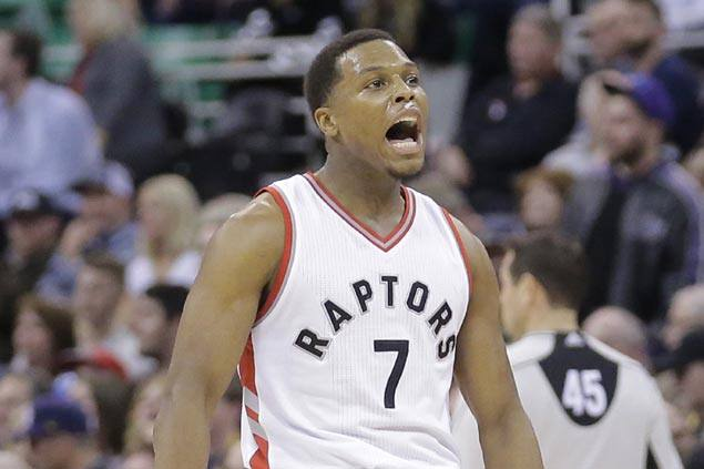 Kyle Lowry takes charge late to power Raptors comeback win over Jazz