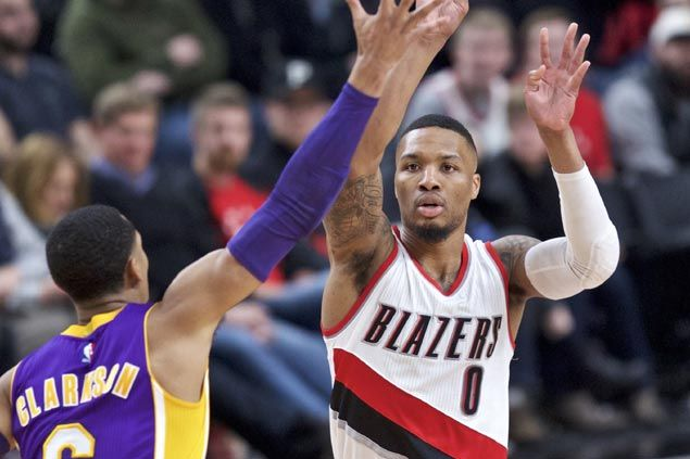 Damian Lillard returns on winning note as Blazers force another Lakers late-game collapse