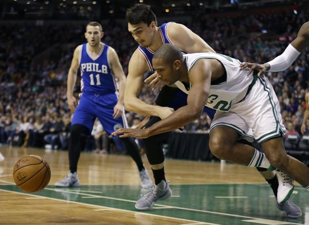 Al Horford powers late rally as Celtics turn back Sixers for third straight win