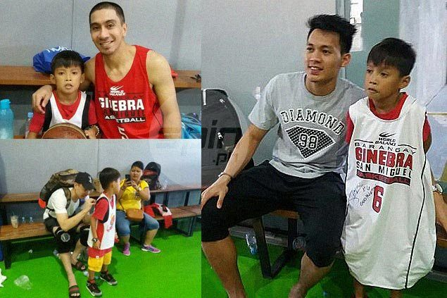 Wish granted as terminally ill fan thrilled to finally meet his Ginebra idols