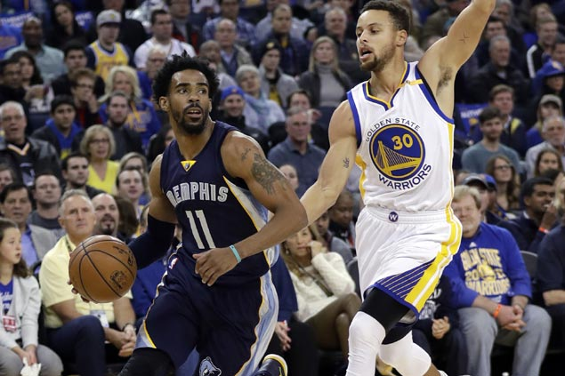 Gritty Grizzlies grind back from 24 points down to complete stunning comeback over Warriors in OT